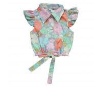 Рикамо: Блузка для девочек БД-005