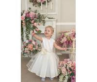 Платье для девочек ПН-005Атлас+жак.пс09