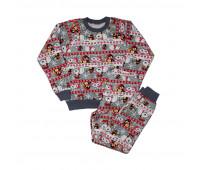 Пижама детская ПД-001 новогодняя