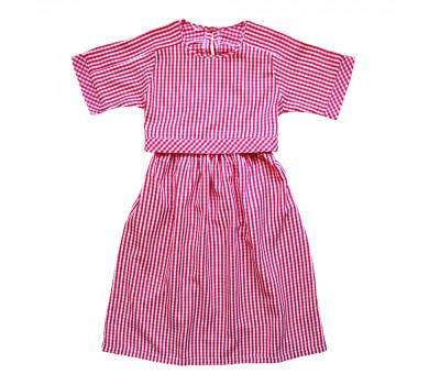 Платье для девочек ПН-0021 клетка