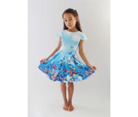 Платье для девочки арт. ПН-0030 Бабочки