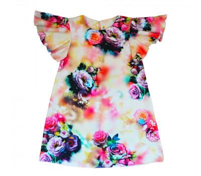 Платье для девочек ПН-006-18 розы
