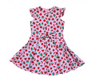 Платье для девочек ПП-0017 арбузы