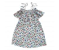 Платье для девочек ПП-0023 бабочки