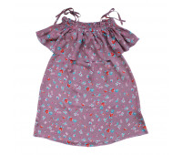 Платье для девочек ПП-0023 цветы
