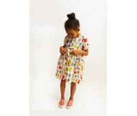Платье для девочек ПП-0024 елки