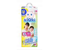 Подгузники-трусики «KIOKI», размер XL (38 шт.)